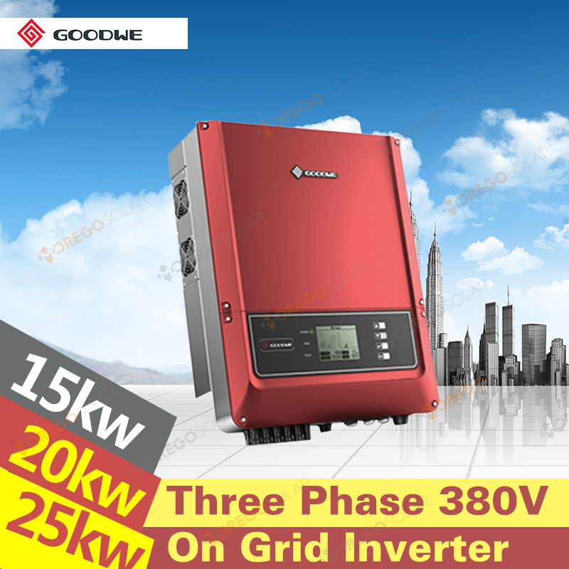 On grid 15kw 20kw 25kw dc ac inverter generator with high