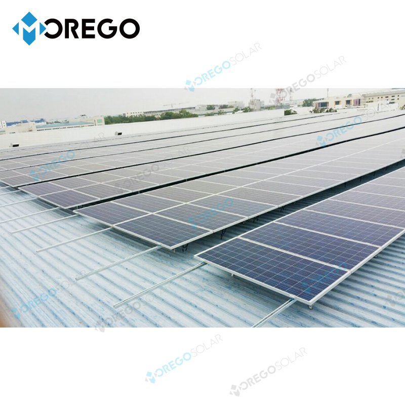 Moregosolar grid tie 5kw solar system with 6BB solar cell solar power panel