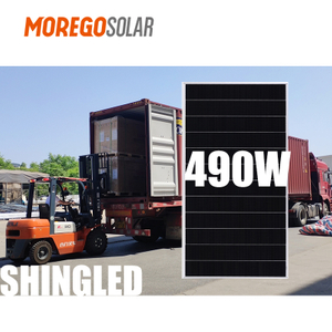 Moregosolar Photovoltaic Panels Shingle Solar Panel 166mm 490W