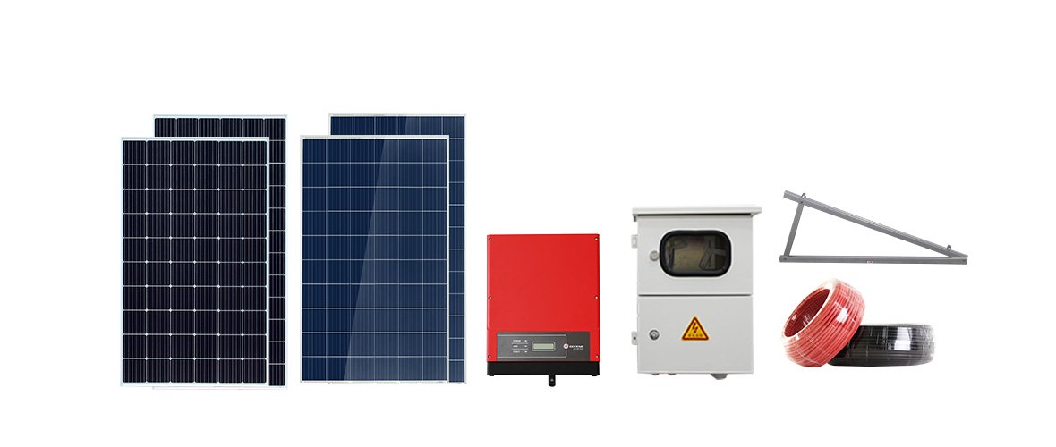 Configuration List 2kw solar power system