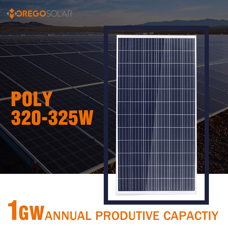 Green energy Morego solar panel 36V 320-325w with cheapest price